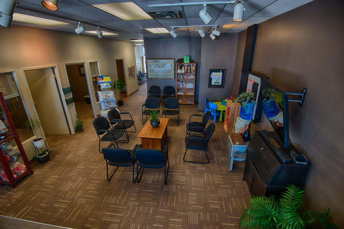 Repainting of a Chiropractic Office by Wagg's Painting